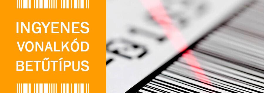 Ingyenes vonalkód betűkészlet - Code39