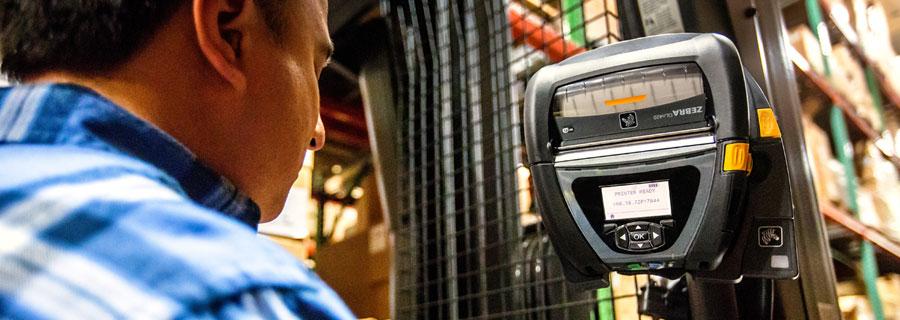A mobilnyomtatás előnyei a raktárban